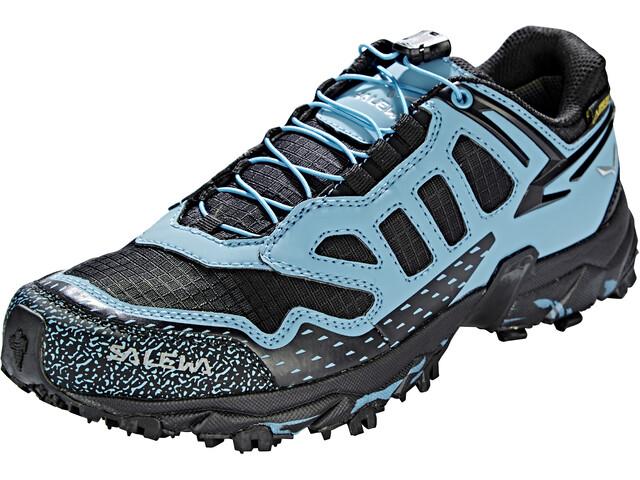 Salewa Ultra Train GTX Shoes Women Black/Blue